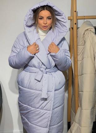Куртка одеяло лаванда