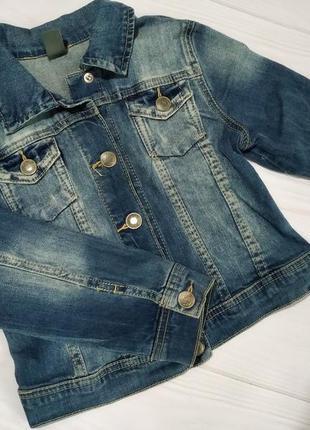 💥скидка до конца недели💥 джинсовка пиджак для девочки zara