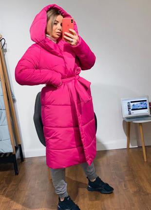Малиновая куртка одеяло