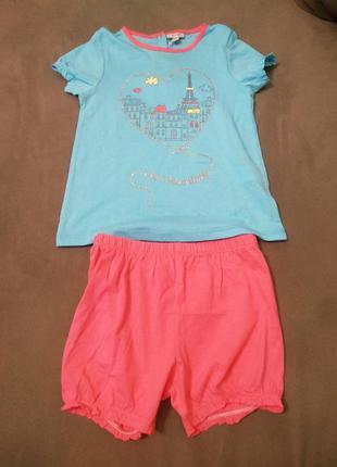 Комплект шорты и футболка ovs fagottino