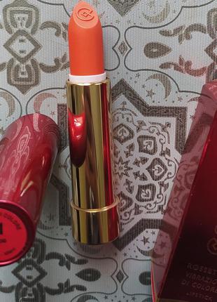 Помада collistar vibrations of color lipstick 11 arancio