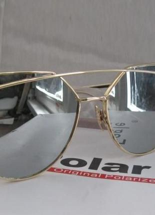 Іміджеві окуляри сонцезахисні polar eagle (очки зеркальные) uv400
