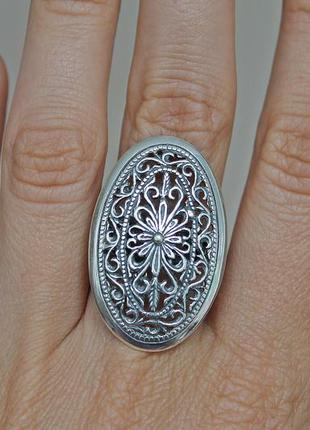 Серебряное кольцо хартов 1164 р.17,5