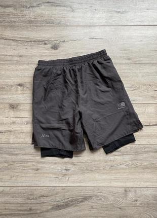 Karrimor x-lite, шорты для спорта, бега, тренировок с лосинами