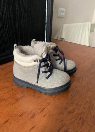 Ботинки детский