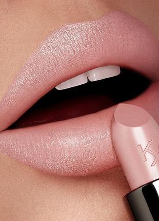 Кремовая питательная помада gossamer emotion creamy lipstick kiko milano 101
