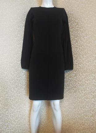 Шерстяное платье миди от дизайнера paule ka