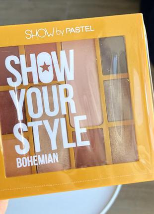 Палетка тіней show your style pastel 461 bohemian, 17 г