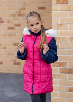 Пальто на 6-9 лет