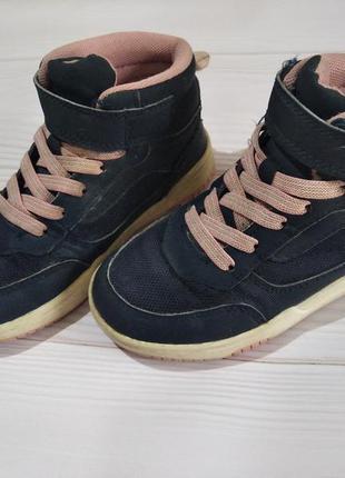 Классные кроссовки хайтопы hm для девочки
