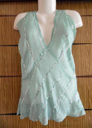Блуза лето, новая tyler размер 12 – идет на 46-48