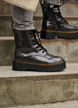 Dr.martens galaxy  premium  женские кожаные ботинки весна осень