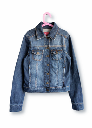 Женская джинсовая куртка monsoon размер хс-с англия