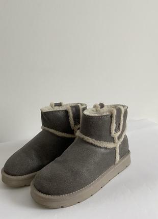 Ботинки валенки на зиму уги тёплые