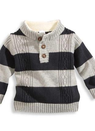 Вязаный свитер с утепленной горловиной c&a