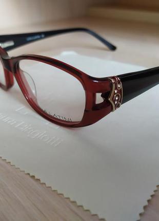 Красивая стильная с флексами очки оправа окуляри lina latini