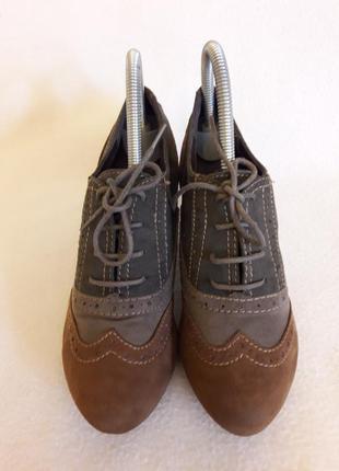 Отличные закрытые туфли фирмы graceland ( германия) р. 38 стелька 24,5 см