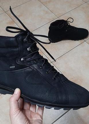 Кожаные зимние сапоги,ботинки fretz men (фретз мен)