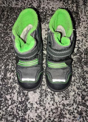 Зимние ботинки superfit на мальчика