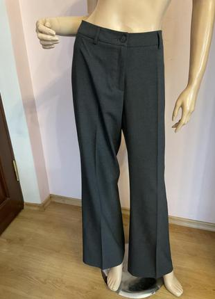 Серые демисезонные немецкие штаны/xl/brend esprit