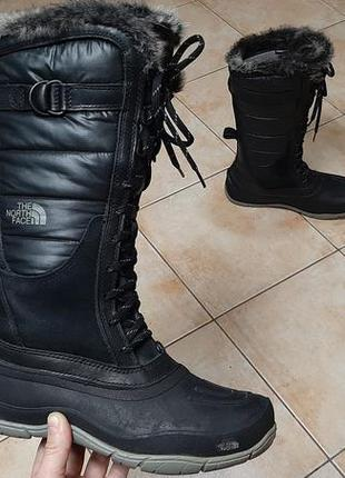 Зимние сапоги,ботинки  the north face shellista lace