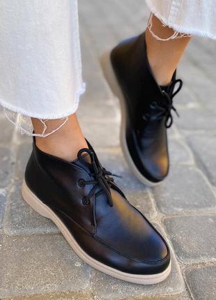 Черевики на шнурівках ботинки на шнуровке черевички ботиночки