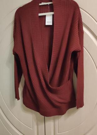 Новый стильный свитер джемпер на р.50/ uk 14