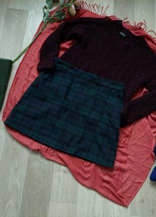 Тёпленькая юбка р 38-42