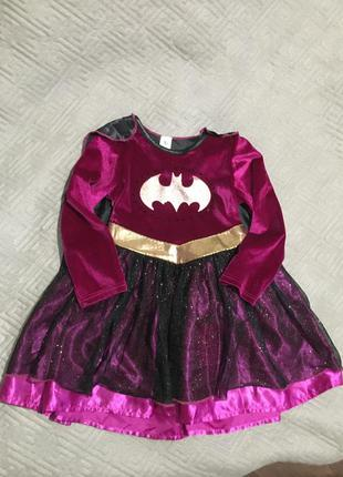 Платье карнавальное на девочку 3-4 года
