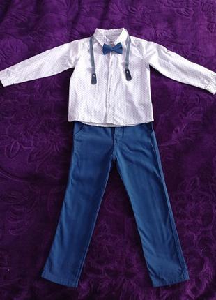 Праздничный костюм для мальчика на 5-6 лет