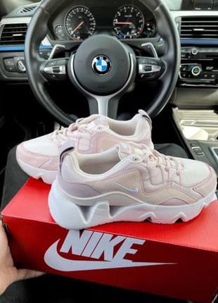Женские спортивные кроссовки на подошве с отверстиями 365 pink