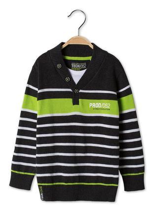 Хлопковый пуловер c&a