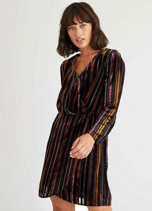 Шикарное нарядное бархатное платье oliver bonas