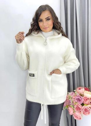Крутейшая куртка из альпаки