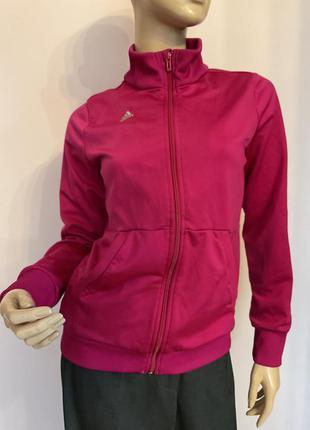 Фирменная малиновая олимпийская/s/бренд adidas