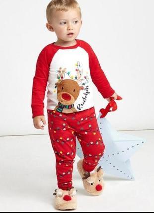 2-3 годика шикарная пижамка из англии
