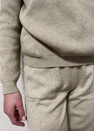 Вязанный костюм
