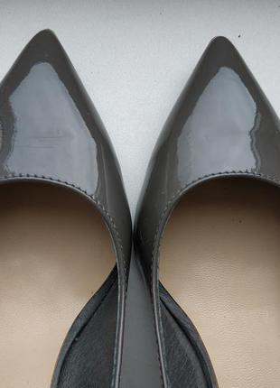 Лаковые лодочки туфли