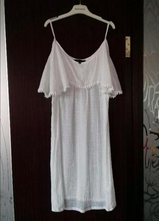 Платье белое от new look!