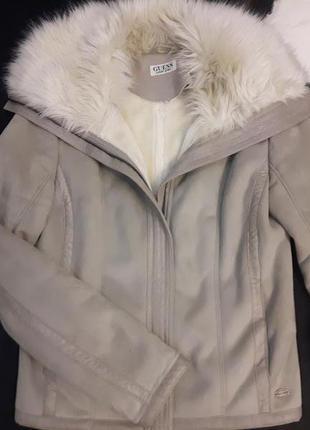 Куртка дубленка guess, оригинал