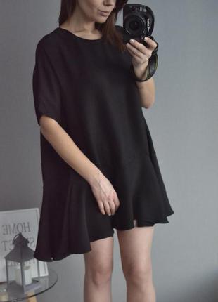 Платье с воланом french connection