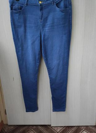 Женские джинсы скини р.52/ uk16