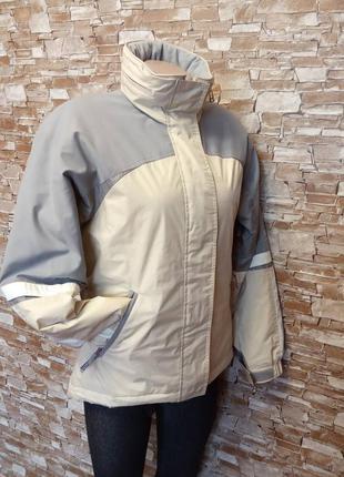 Итальянская, теплая, женская куртка, курточка, лыжная, термо