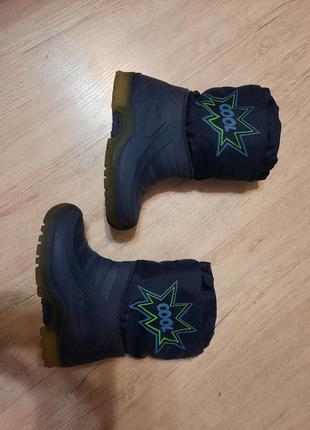 Сапоги ботинки зима 15 см стелька