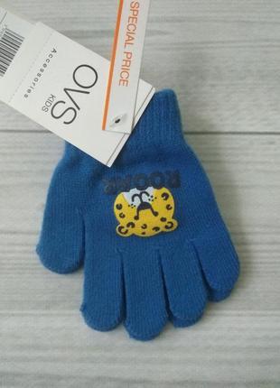 Перчатки для мальчика ovs