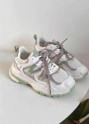 🍃новые кроссовки на массивной подошве🍃