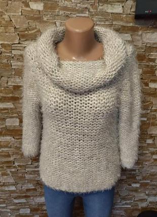 Итальянский, новый, женский свитер, свитерок, оверсайз