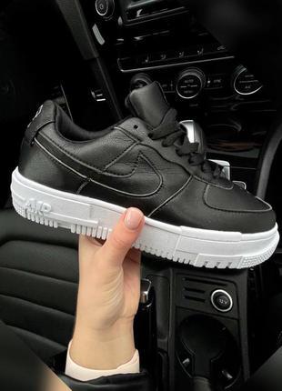 Кроссовки женские nike air force pixel черные / кросівки жіночі найк аир форс пиксель чорні кроссы