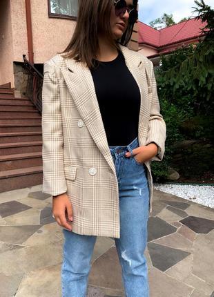 Жакет пиджак гусиная лапка ✨