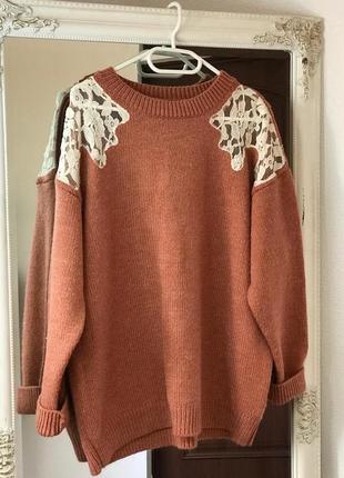 Очень красивый шикарный свитер m&s